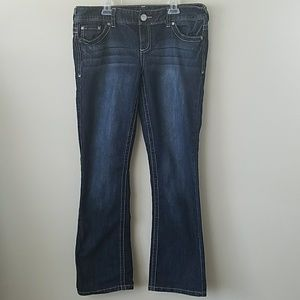 Maurices Short Boot Cut Jeans
